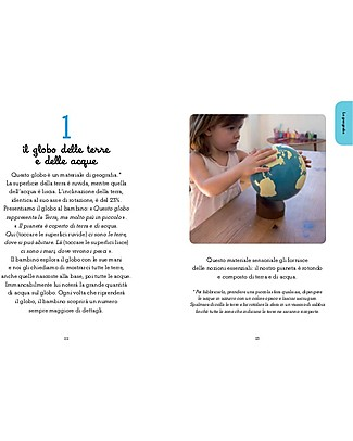 L'ippocampo Ragazzi Handbook, 100 Montessori Activities to Know the World - 3-6 years Books