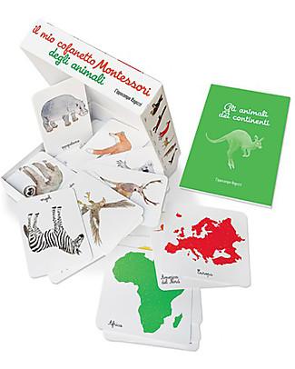 L'ippocampo Ragazzi My Little Montessori Box of Animals - 57 cards + activity booklet Montessori Toys