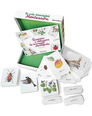 L'ippocampo Ragazzi My Montessori Images, Box - 150 cards + activity booklet Montessori Toys