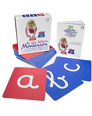 L'ippocampo Ragazzi My Montessori Letters, Box - 26 cards + activity booklet Montessori Toys