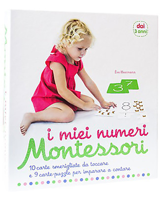 L'ippocampo Ragazzi My Montessori Numbers, Box - Cards + activity booklet Montessori Toys