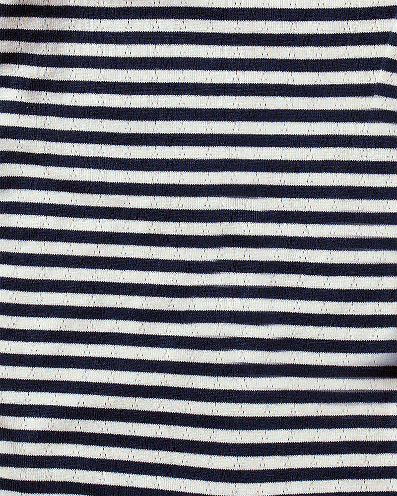 e55358fc8535f Little Green Radicals Pointelle Striped Long Sleeve Tee