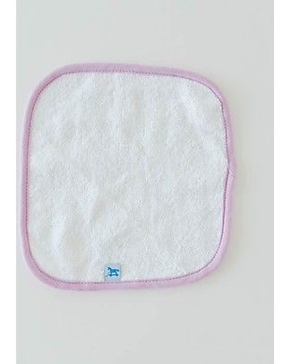 Little Unicorn Hooded Towel + Wash Cloth Set, Berry & Bloo - Terry cotton muslin  Towels And Flannels