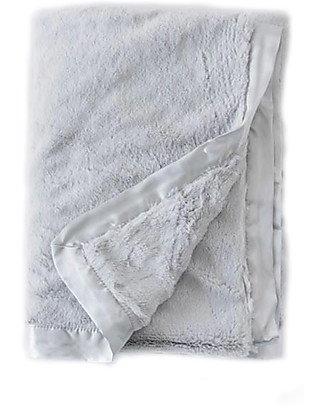 Little Unicorn Plush Luxury Blanket - Grey - Super Soft! Blankets