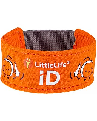 LittleLife Child Safety ID Bracelet, ClownFish Bracelets