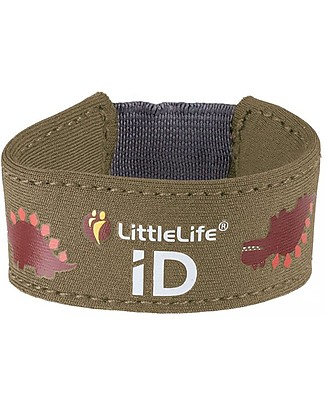LittleLife Child Safety ID Bracelet, Dino Bracelets