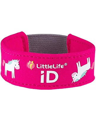 LittleLife Child Safety ID Bracelet, Unicorn Bracelets