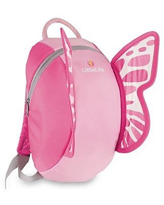 LittleLife Kids Backpack 3+ years, Butterfly - Perfect for school! Small Backpacks