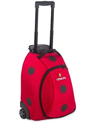 LittleLife Kids Suitcase, Ladybug - For Little Travellers! Travel Bags