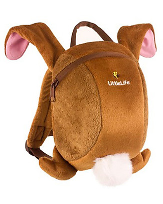 LittleLife Toddler Backpack 1-3 years, Bunny Rabbit - Safety Reins Included Small Backpacks