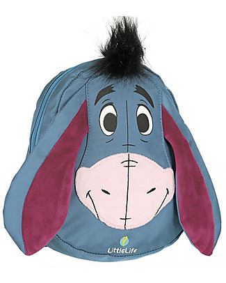 LittleLife Toddler Backpack 1-3 years, Eeyore - Safety Reins Included Small Backpacks