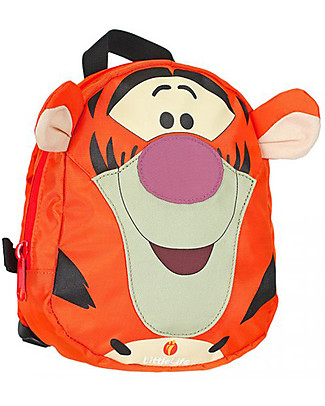 LittleLife Toddler Backpack 1-3 years, Tigger - Safety Reins Included Small Backpacks