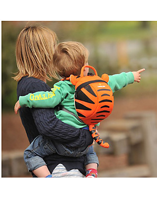 LittleLife Toddler Backpack 1-3 years, Tigro the Tiger - Safety Reins Included Small Backpacks