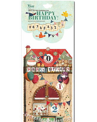 Londji Birthday Countdown Calendar - makes waiting fun! Party Favours