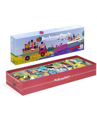 Londji Bon Voyage progressive Puzzle - 22 Pieces (recycled cardboards) Puzzles