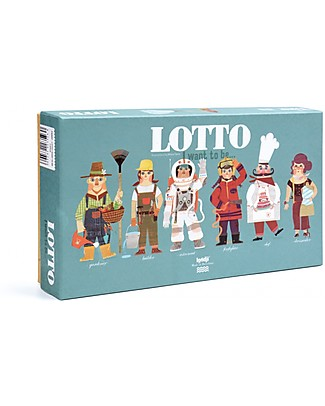 Londji Lotto, I want to be.. - 6 occupation cards + 36 round cards included! Traditional Toys