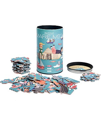 Londji Mare Mio Puzzle - 50 big pieces - Recycled Cardboard! Puzzles