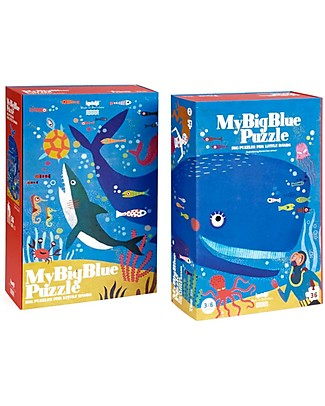 Londji My Big Blue Puzzle - 36 big pieces! Puzzles