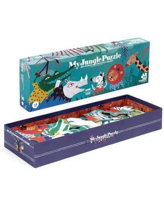 Londji My Jungle Progressive Puzzle - 22 Pieces (recycled cardboard) Puzzles