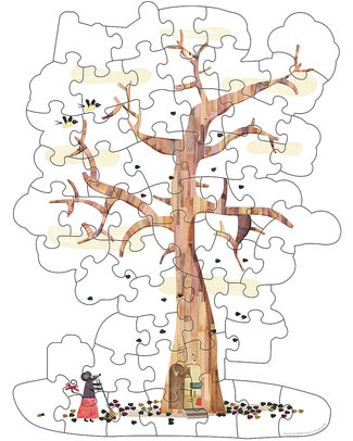 Londji Reversible Tree Puzzle Puzzles