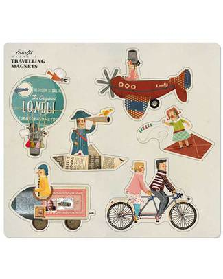 Londji Travelling Magnets - 6 Pieces Traditional Toys