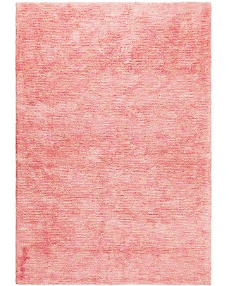 Lorena Canals Big Machine Washable Rug Mix - Flamingo Pink - 100% Cotton (140cm x 200cm)  Carpets