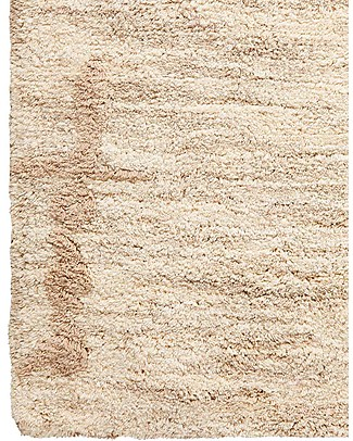 Lorena Canals Big Machine Washable Rug Mix - Sand Beige - 100% Cotton (140cm x 200cm)   Carpets