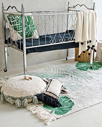 Lorena Canals Big Machine Washable Rug, Tropical Green - 140 x 200 cm Carpets