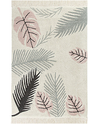 Lorena Canals Big Machine Washable Rug, Tropical Pink - 140 x 200 cm Carpets