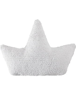Lorena Canals Boat Cushion White 100% Natural Cotton (machine washable) Cushions