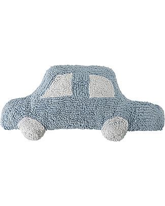 Lorena Canals Car Cushion Blue 100% Natural Cotton (machine washable!) Cushions