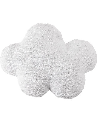 Lorena Canals Cloud Cushion White 100% Natural Cotton (machine washable) null