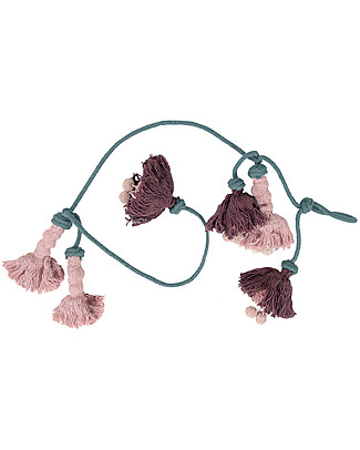 Lorena Canals English Garden Garland - 125 cm Lenght Room Decorations