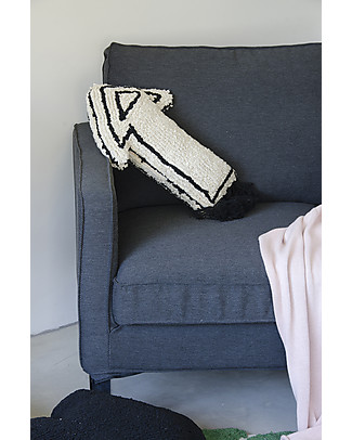 Lorena Canals Machine Washable Cushion, Arrow - 38 x 48 cm - Hand-made Cushions