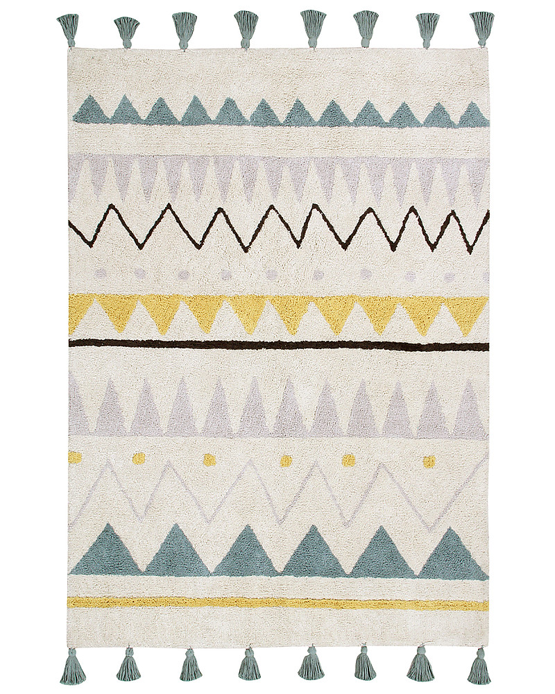 Lorena Canals Machine Washable Rug Azteca Natural Vintage