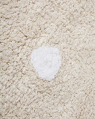 Lorena Canals Machine Washable Rug  Beige Biscuit 100% Cotton (120 cm x 160 cm) Carpets