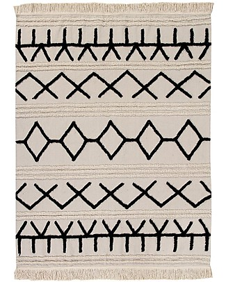 Lorena Canals Machine Washable Rug Canvas - Bereber - 100% Cotton (120 x 160cm)  Carpets