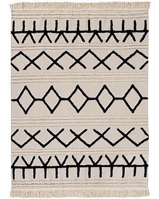 Lorena Canals Machine Washable Rug Canvas - Bereber - 100% Cotton (140 x 200cm)  Carpets