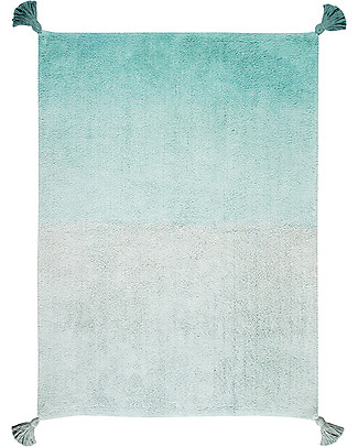 Lorena Canals Machine Washable Rug Degrade - Emerald - 100% Cotton (120cm x 160cm)  Carpets