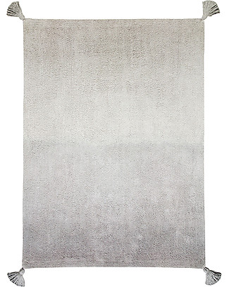 Lorena Canals Machine Washable Rug Degrade - Grey - 100% Cotton (120cm x 160cm)  Carpets