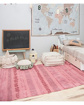 Lorena Canals Machine Washable Rug Early Hours, Air Canyon Rose - 100% Cotton (170 x 240 cm)  Carpets