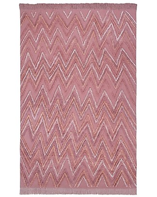 Lorena Canals Machine Washable Rug Early Hours, Earth Canyon Rose - 100% Cotton (170 x 240 cm)  Carpets