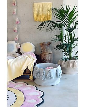 Lorena Canals Pom Pom Garland Tie-Dye, Pink - 100% cotton Room Decorations