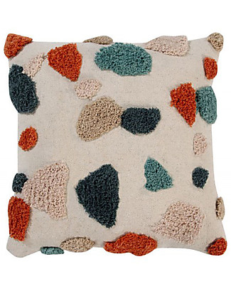 Lorena Canals Square Cushion Terrazzo, Marble - 100% cotton (40x40 cm) Cushions