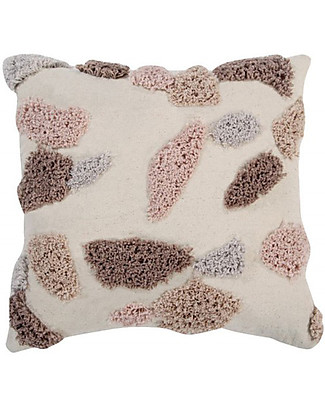 Lorena Canals Square Cushion Terrazzo, Moonstone - 100% cotton (40x40 cm) Cushions