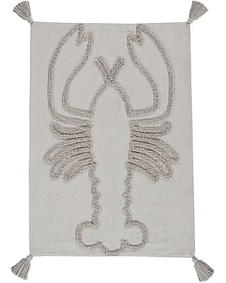 Lorena Canals Wall Hanging Lobster, Natural - 70x100 cm - 100% cotton Room Decorations
