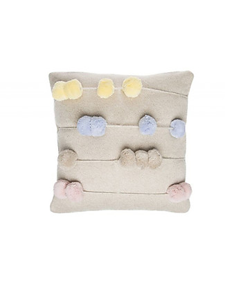 Lorena Canals Washable Knitted Cushion Back to School, Counting Frames (30 x 30 cm) null