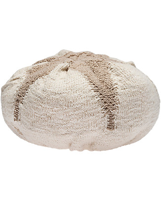 Lorena Canals Washable Knitted Cushion Cotton Boll - 25x10 cm Pillows