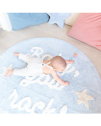 Lorena Canals Washable Rug Baby, You Rock! - 100% cotton (120 cm) Carpets