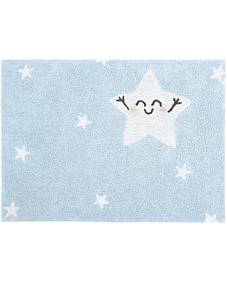 Lorena Canals Washable Rug Happy  Star - 100% cotton (120x160 cm) Carpets